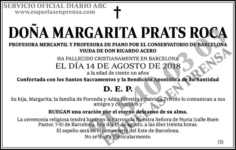 Margarita Prats Roca